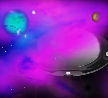 Journey to the Center of the Nebula by TeriLee