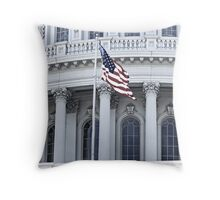 Capitol Flag Throw Pillow
