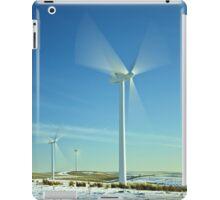 Wind Turbines in Motion iPad Case/Skin