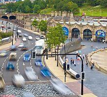 Sheffield Train Station by yeamanphoto