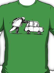 Push the car T-Shirt