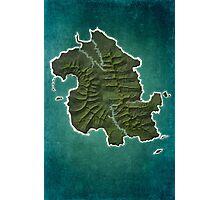 DHARMA Station Map Photographic Print