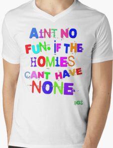 Aint No Fun Mens V-Neck T-Shirt