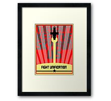 They Can't Keep the Sky from Us Framed Print
