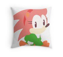 Amy Rose The Hedgehog Throw Pillow