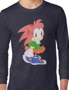 Amy Rose The Hedgehog Long Sleeve T-Shirt