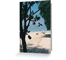 Sipadan Island - Sabah, Malaysian Borneo Greeting Card