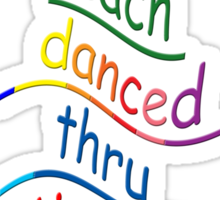 The source of DANCING ~ Sticker