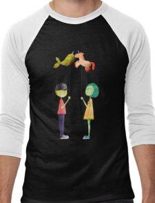 Dim Love Men's Baseball ¾ T-Shirt