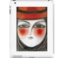 The hat iPad Case/Skin