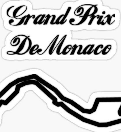 Grand Prix De Monaco Sticker