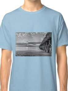 2nd Ave pier black and white_2 Classic T-Shirt