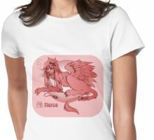Lop-Eared Manticore Womens Fitted T-Shirt