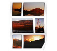 Argyll Sunsets Poster