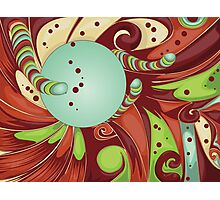 Candy background Photographic Print