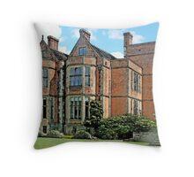 The University Of York - Heslington Hall Throw Pillow