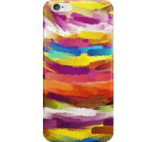 Vivid Color Paint Splatter Brush Stroke iPhone Case/Skin