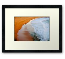 A Walk On The Wild Side - Sydney Beaches - The HDR Experience Framed Print