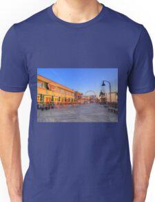 Sunrise on the Boardwalk_2 Unisex T-Shirt