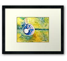 Golf series - Sweet moment Framed Print