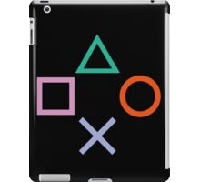 PlayStation Control Buttons iPad Case/Skin