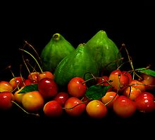 Figs & Cherries by jerry  alcantara