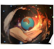 The World its in your hands Poster