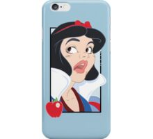 Snow White Scared in the Haunted Forest iPhone Case/Skin