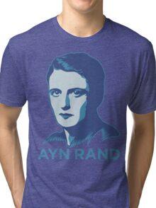 Ayn Rand Tri-blend T-Shirt