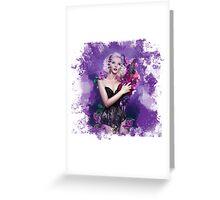 Floral Depiction  Greeting Card