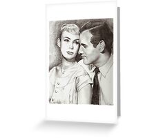 Paul Newman & Joanne Woodward Greeting Card