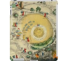 """""""Plan of the Road from the City of Destruction to the Celestial City, engraved expressly for Williams's Elegant Edition of The Pilgrim's Progress"""", 19th century (engraving) iPad Case/Skin"""