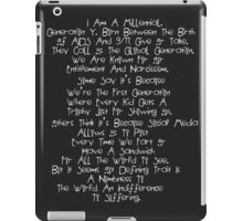 American Horror Story Coven Quote iPad Case/Skin