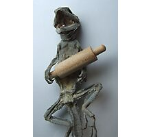 """""""..and what time do you call this...""""?  (Lizard Series) Photographic Print"""