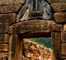 The gate of Mycene Sticker