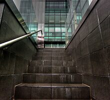 Workplace Steps - Waymouth Street HDR by Harry Dinnen