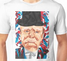 Portrait of Winston Churchill Unisex T-Shirt