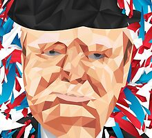 Portrait of Winston Churchill by dannyivan