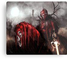 Red King Metal Print
