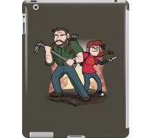 Post-Apocalyptic Dynamic Duo! iPad Case/Skin