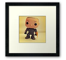 Commander Shepard Framed Print
