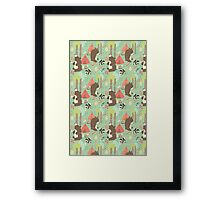 Bears of Summer Framed Print
