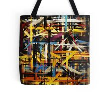 Paint Color Splatter Brush Stroke #2 Tote Bag