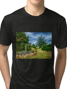 The garden Tri-blend T-Shirt