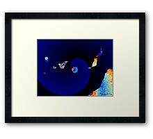 Volcanic Geology Of Canary Islands Framed Print