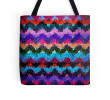 Abstract Paint Color Splatter Brush Stroke #2 Tote Bag