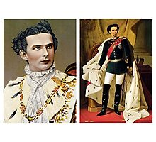 Bavarian King Ludwig II Photographic Print