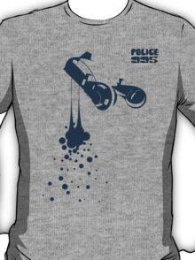 bladerunner spinner (blue) T-Shirt