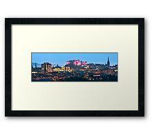 Pink Edinburgh Castle Framed Print