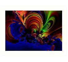 """""""Ocean Storm"""" Art Print"""